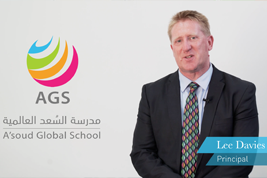 MEET THE PRINCIPAL AT A'SOUD GLOBAL SCHOOL, LEE DAVIES